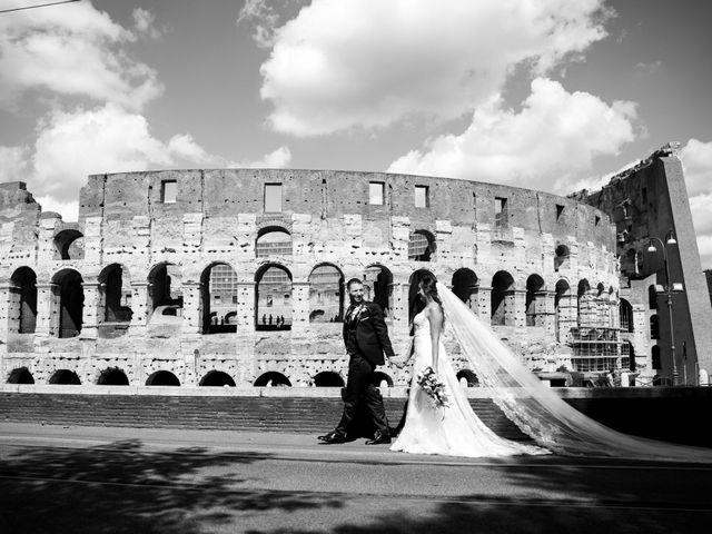 Il matrimonio di Luciano e Eleonora a Rocca di Papa, Roma 35