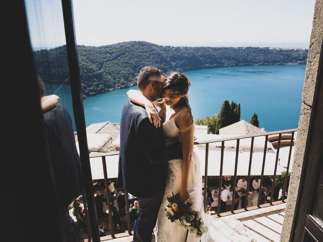 Il matrimonio di Luciano e Eleonora a Rocca di Papa, Roma 45