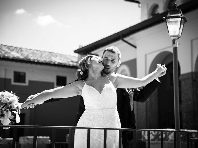 Il matrimonio di Luciano e Eleonora a Rocca di Papa, Roma 50