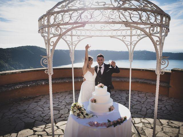 Il matrimonio di Luciano e Eleonora a Rocca di Papa, Roma 74