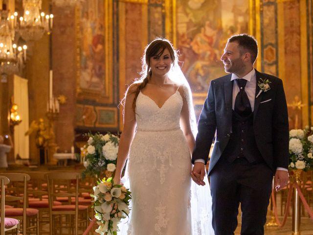 Il matrimonio di Luciano e Eleonora a Rocca di Papa, Roma 81