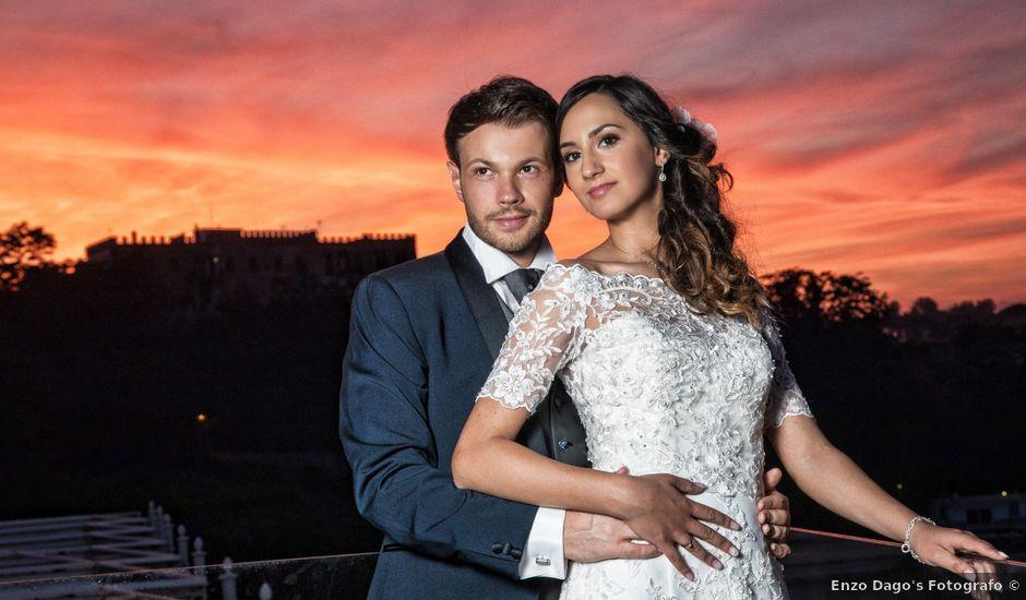 Il matrimonio di Luigi e Fiorenza a Sant'Antimo, Napoli
