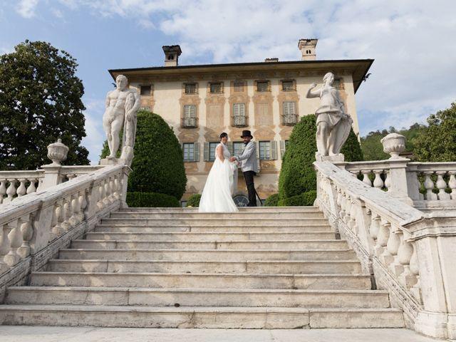 le nozze di Marcella e Giancarlo