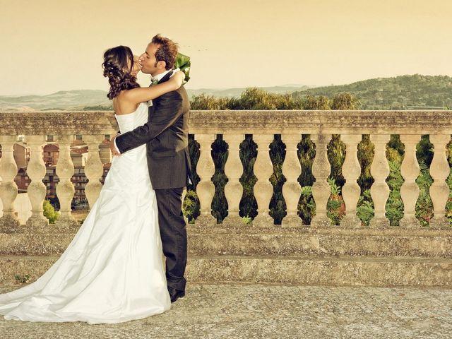 le nozze di Fatima e Ivan