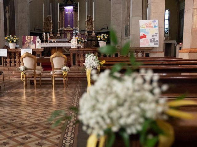 Il matrimonio di Jacopo e Giulia a Pantigliate, Milano 17