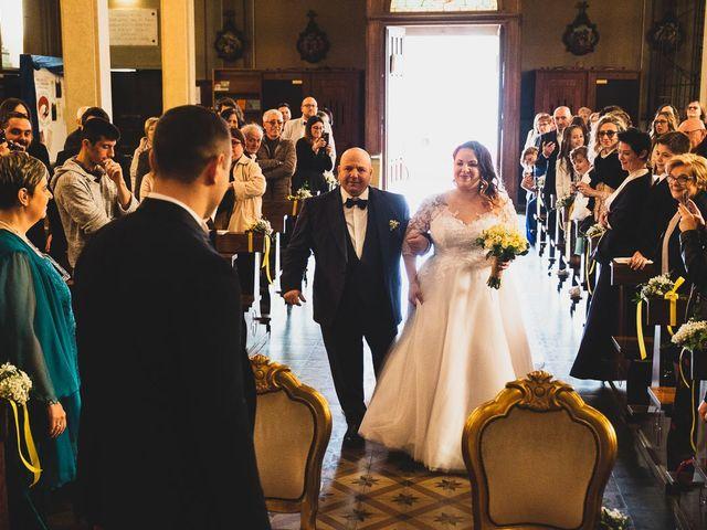 Il matrimonio di Jacopo e Giulia a Pantigliate, Milano 35