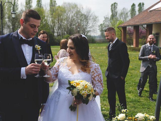 Il matrimonio di Jacopo e Giulia a Pantigliate, Milano 88