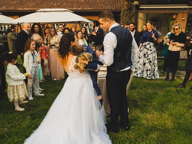 Il matrimonio di Jacopo e Giulia a Pantigliate, Milano 138