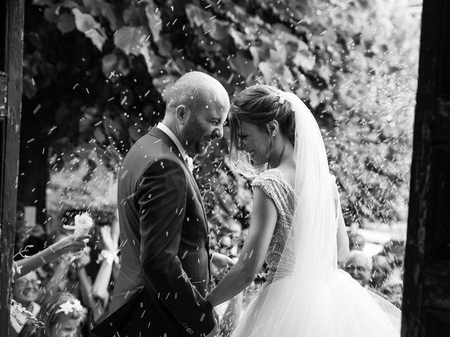 Le nozze di Giorgia e Fabrizio