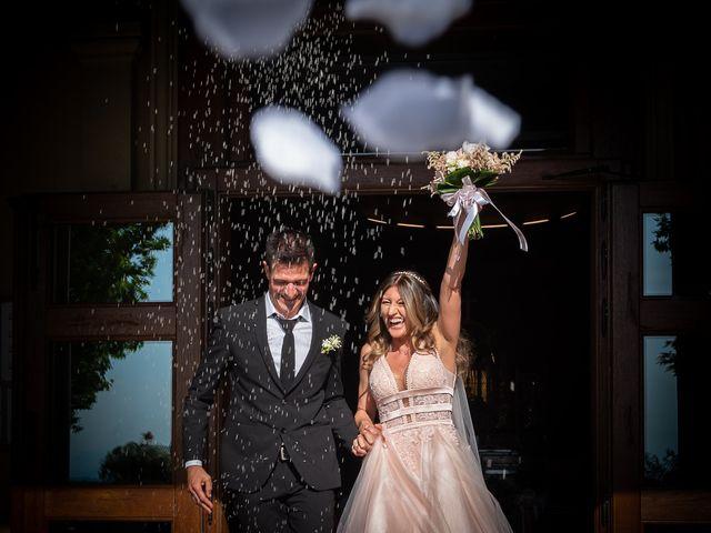Il matrimonio di Simone e Chiara a Pombia, Novara 21