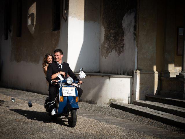 Il matrimonio di Simone e Chiara a Pombia, Novara 1