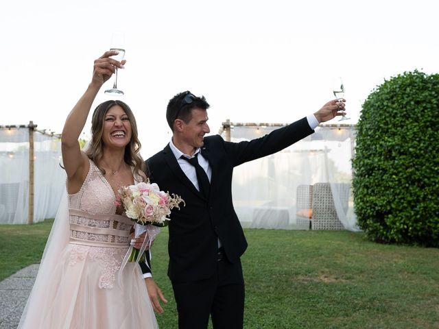 Il matrimonio di Simone e Chiara a Pombia, Novara 27