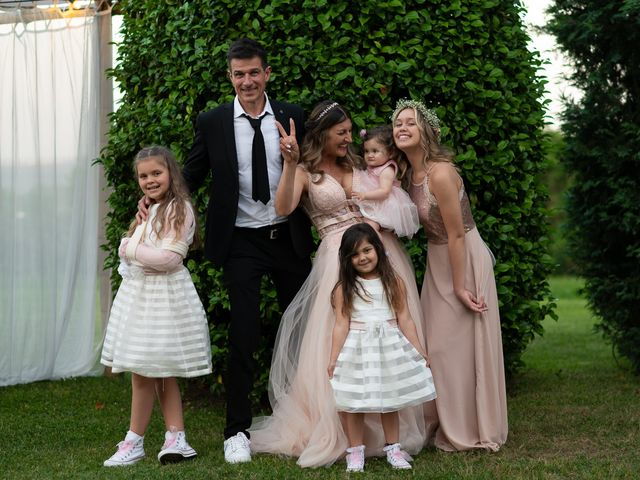 Il matrimonio di Simone e Chiara a Pombia, Novara 32