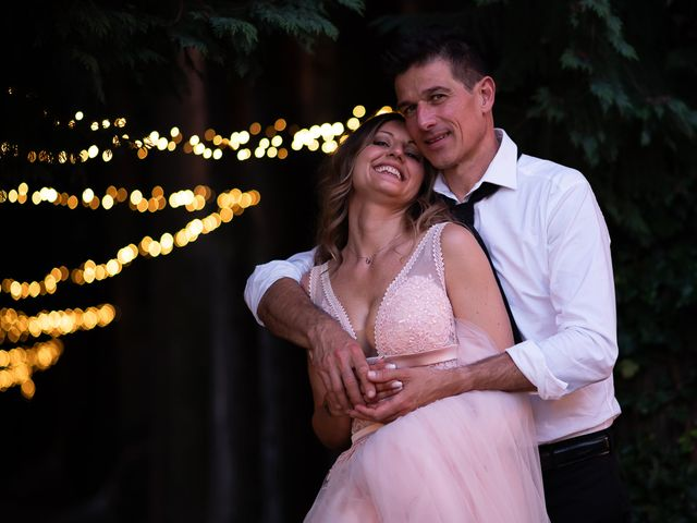 Il matrimonio di Simone e Chiara a Pombia, Novara 43