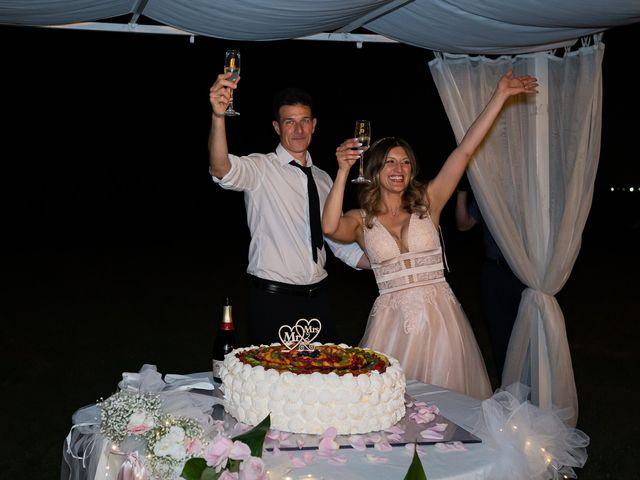 Il matrimonio di Simone e Chiara a Pombia, Novara 48