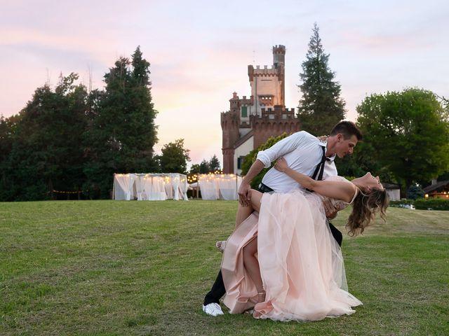 Il matrimonio di Simone e Chiara a Pombia, Novara 2