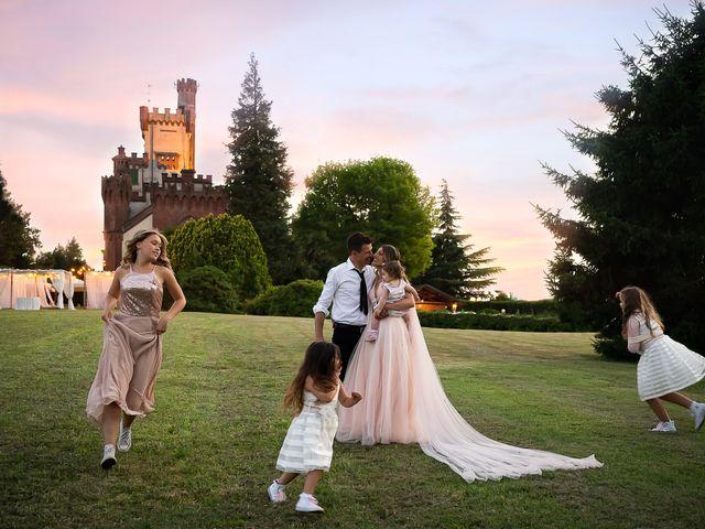 Il matrimonio di Simone e Chiara a Pombia, Novara 42