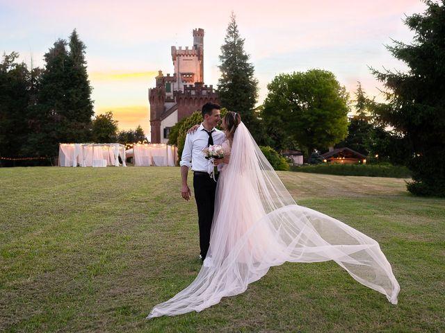 Il matrimonio di Simone e Chiara a Pombia, Novara 41