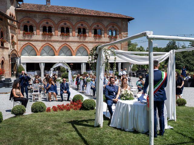 Il matrimonio di Luca e Gloria a Filago, Bergamo 15