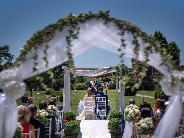Il matrimonio di Luca e Gloria a Filago, Bergamo 16