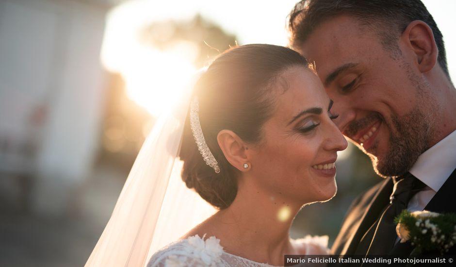 Il matrimonio di Francesco e Mariarosaria a Vico Equense, Napoli