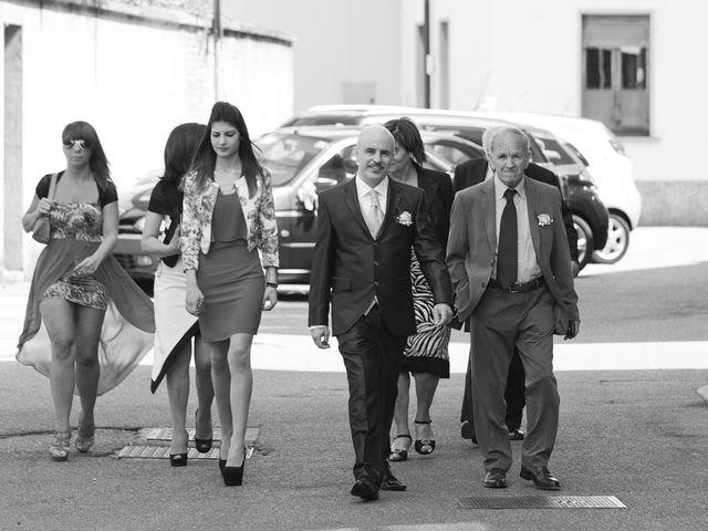 Il matrimonio di Giuseppe e Sylvia a Buscate, Milano 13