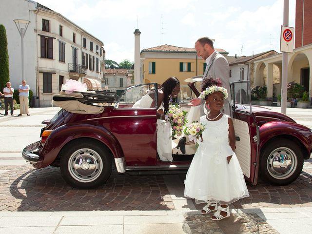 Il matrimonio di Giuseppe e Sylvia a Buscate, Milano 16