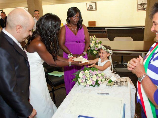 Il matrimonio di Giuseppe e Sylvia a Buscate, Milano 20