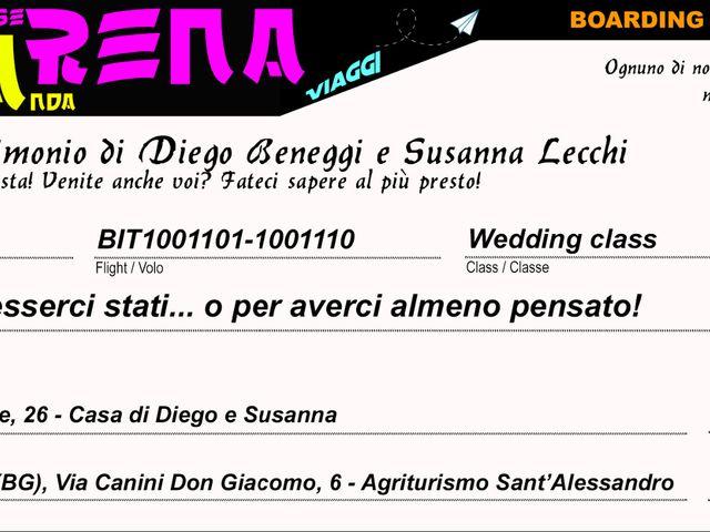 Il matrimonio di Diego e Susanna a Albano Sant'Alessandro, Bergamo 5