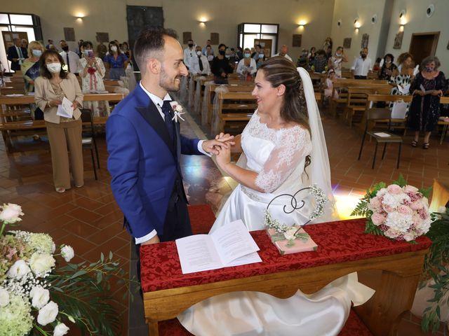 Il matrimonio di Federico e Daniela a Montecarlo, Lucca 45