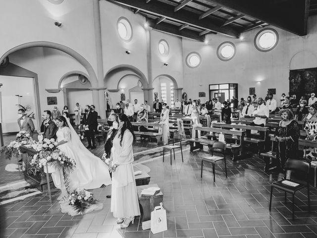 Il matrimonio di Federico e Daniela a Montecarlo, Lucca 46