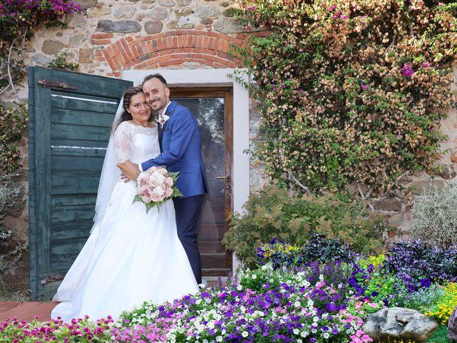 Il matrimonio di Federico e Daniela a Montecarlo, Lucca 1