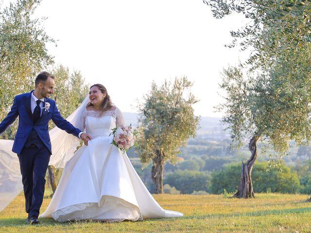 Il matrimonio di Federico e Daniela a Montecarlo, Lucca 2
