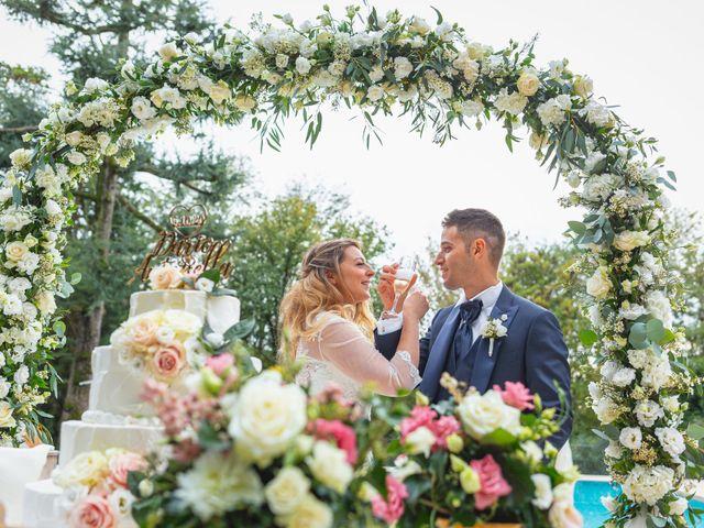 Il matrimonio di Dario e Antonella a Lesmo, Monza e Brianza 137