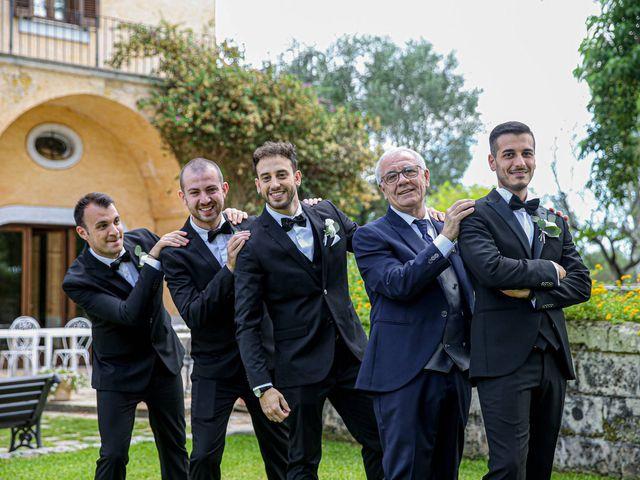 Il matrimonio di Fabiana e Dario a Manduria, Taranto 11