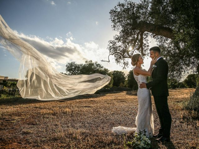 Il matrimonio di Fabiana e Dario a Manduria, Taranto 36