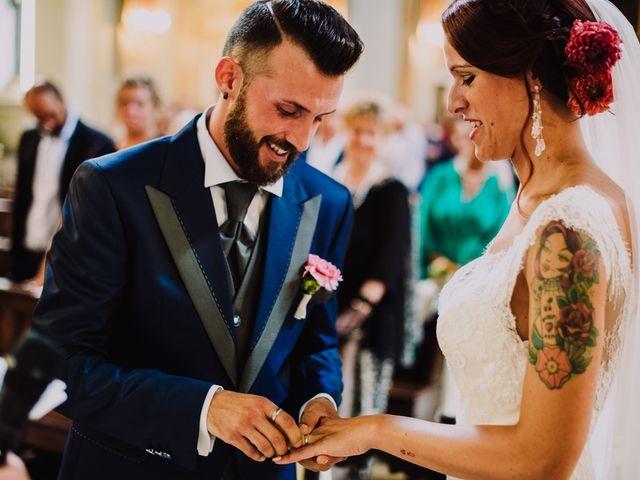 Il matrimonio di Federico e Lisa a Scanzorosciate, Bergamo 52