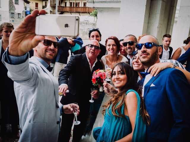 Il matrimonio di Federico e Lisa a Scanzorosciate, Bergamo 72
