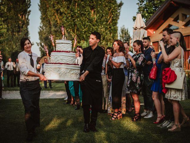 Il matrimonio di Federico e Lisa a Scanzorosciate, Bergamo 111