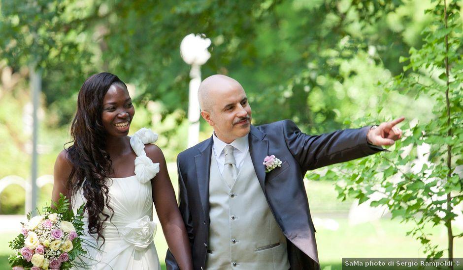 Il matrimonio di Giuseppe e Sylvia a Buscate, Milano