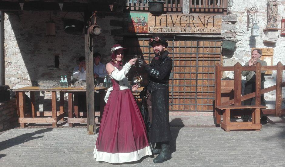 Il matrimonio di Giulio e Greta a Mel, Belluno