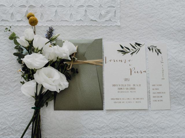 Il matrimonio di Lorenzo e Piera a Molfetta, Bari 1