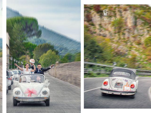 Il matrimonio di Jose Luis e Tina a Cesa, Caserta 13