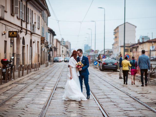 Il matrimonio di Paolo e Caterina a Milano, Milano 1