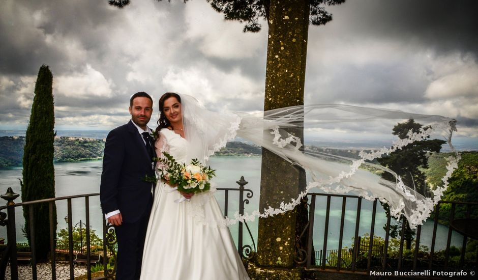 Il matrimonio di Nello e Elisa a Rocca di Papa, Roma