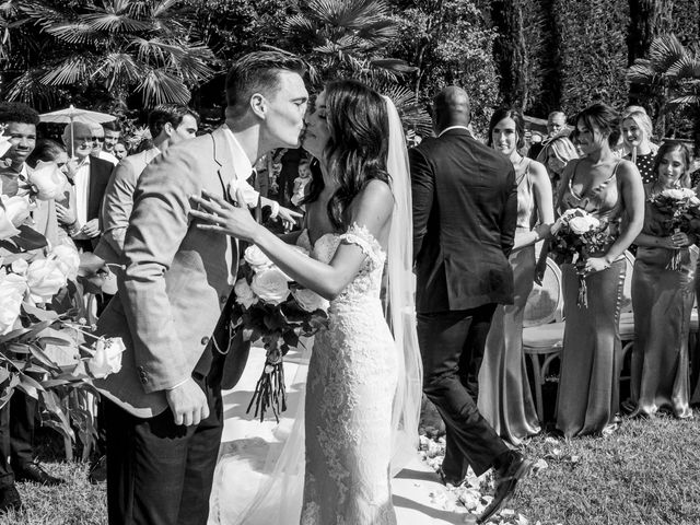 Il matrimonio di Sean e Dominique a Mandello del Lario, Lecco 35