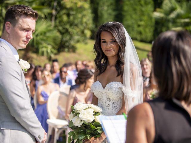 Il matrimonio di Sean e Dominique a Mandello del Lario, Lecco 39