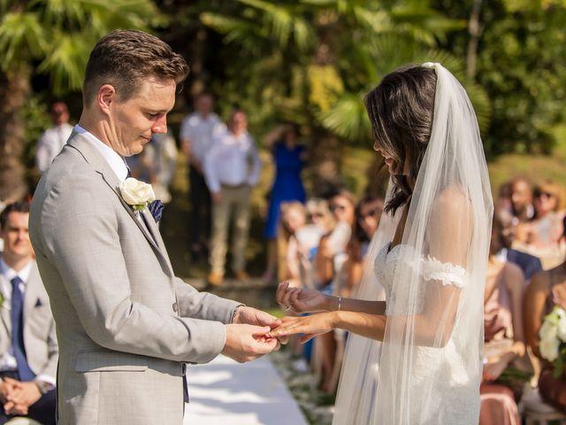 Il matrimonio di Sean e Dominique a Mandello del Lario, Lecco 42