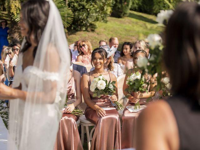 Il matrimonio di Sean e Dominique a Mandello del Lario, Lecco 45