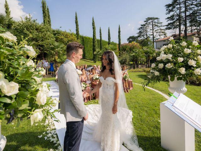 Il matrimonio di Sean e Dominique a Mandello del Lario, Lecco 49